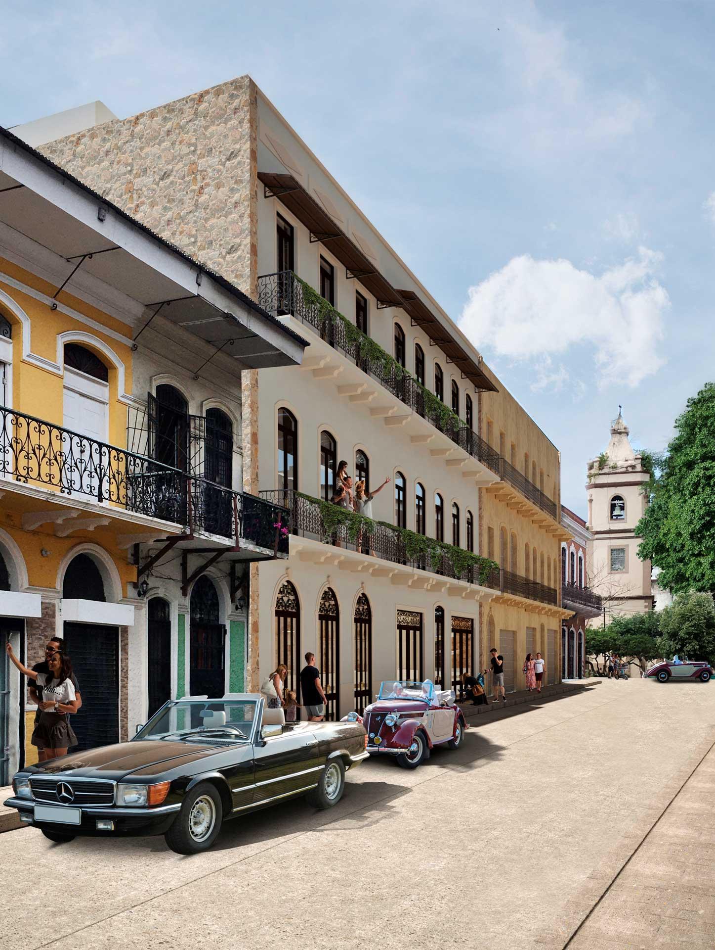 Facade - Casa Abrahams & Dolores, Casco Viejo