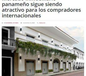 Mercado inmobiliario panameño sigue siendo atractivo para los compradores - capital financiero